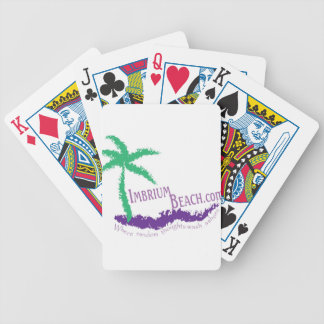 Imbrium Beach Logo Wear Bicycle Playing Cards