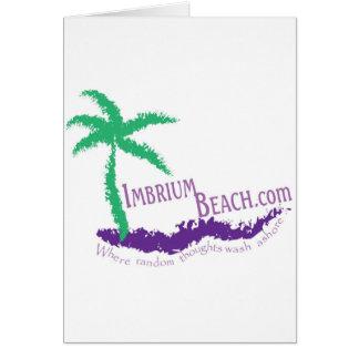 Imbrium Beach Logo Wear Card