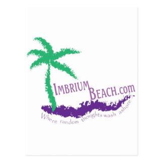 Imbrium Beach Logo Wear Postcard