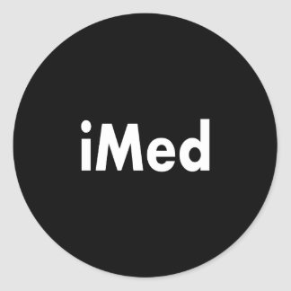 iMed Classic Round Sticker