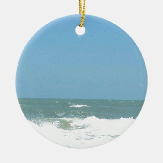 imensidão of the sea ceramic ornament