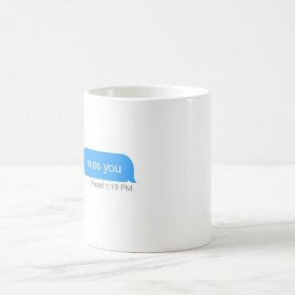 iMessage miss you Coffee Mug