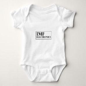 IMF Electronics logo Baby Bodysuit
