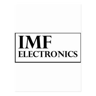 IMF Electronics logo Postcard