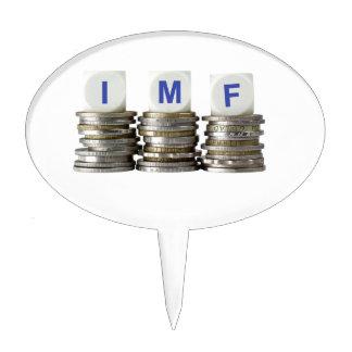 IMF - International Monetary Fund Cake Topper