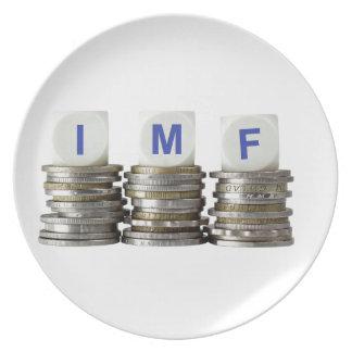 IMF - International Monetary Fund Melamine Plate