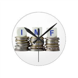 IMF - International Monetary Fund Round Clock