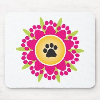 Paw Prints Flower