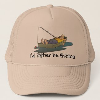 I'd rather be fishing - lazy boat day