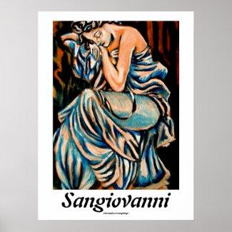 Woman Sleeping by Omar Sangiovanni