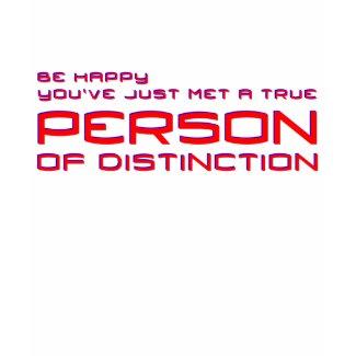 Person of Distinction