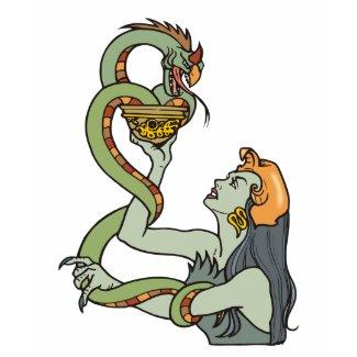 Mystic Serpent Priestess
