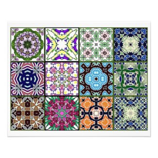 Artbyjean How Did You Do That Zazzle Flyer From Jean 12 Different Tea Bag Tiles Origami