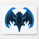 Bat Blue The MUSEUM Zazzle Gifts