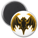 Bat Gold The MUSEUM Zazzle Gifts