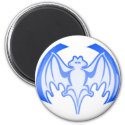 Bat Blue Inv The MUSEUM Zazzle Gifts