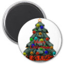 Christmas Tree Decorated The MUSEUM Zazzle Gifts