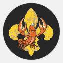 Crawfish Fleur De Lis