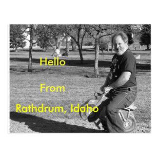 IMG_0034-4, Rathdrum, Idaho, HelloFrom Postcard