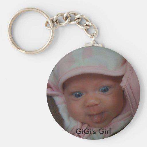 IMG_0049, el chica de GiGi Llavero Personalizado