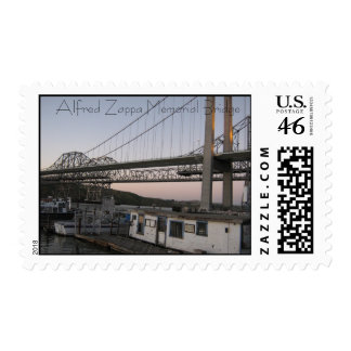 IMG_0060 Alfred Zappa Memorial Bridge Postage Stamps
