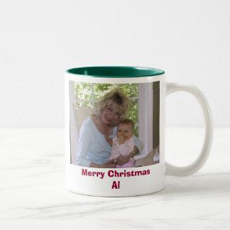 IMG_0070, Merry Christmas Al Two-Tone Coffee Mug