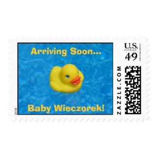 IMG_0076, Arriving Soon... , Baby Wieczorek! Postage