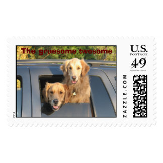 IMG_0093, The gruesome twosome Postage Stamp