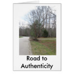 IMG_0112, Road to Authenticity Greeting Card