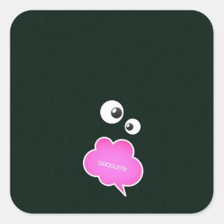 IMG_0123_copy googley Izzzz.jpg Square Sticker