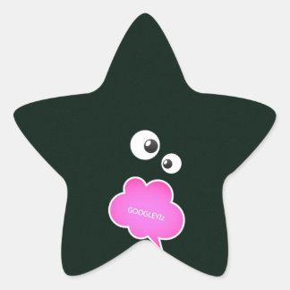 IMG_0123_copy googley Izzzz.jpg Star Sticker