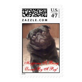 IMG_0158.JPG, Happiness Is Being Owned By A Pug! Postage
