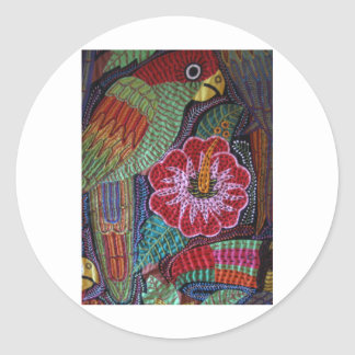 IMG_0183.jpg Birds of Panama series Classic Round Sticker