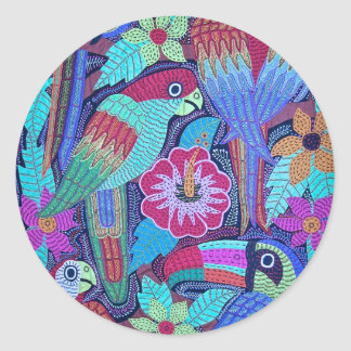 IMG_0188.jpg Birds of Panama Classic Round Sticker