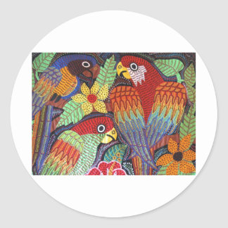 IMG_0190.JPG Birds of Panama Classic Round Sticker