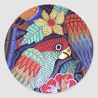 IMG_0194.jpg Birds of Panama Classic Round Sticker