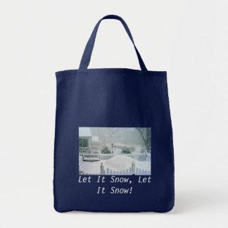 IMG_0209-1, Let It Snow, Let It Snow! Tote Bag
