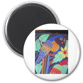 IMG_0210 jpgTropical Birds of Panama Refrigerator Magnet