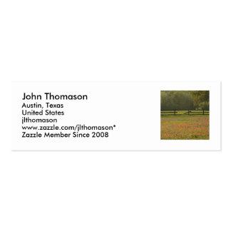 IMG_0291c, John Thomason, Austin, Texas, United... Mini Business Card