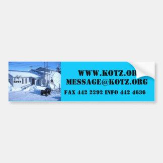 IMG_0319, KOTZ, WWW.KOTZ.ORG, MESSAGE@KOTZ.ORG,… PEGATINA DE PARACHOQUE