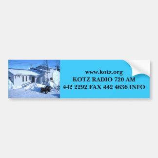 IMG_0319, RADIO 720 AM442 2292 de www.kotz.org KOT Etiqueta De Parachoque