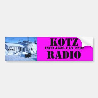 IMG_0319, RADIO DE KOTZ PEGATINA DE PARACHOQUE