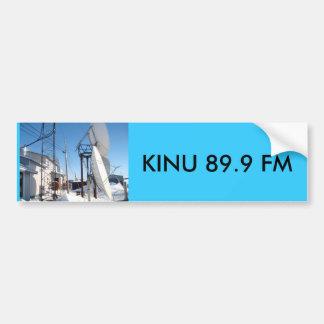 IMG_0323, KINU 89.9 FM BUMPER STICKER