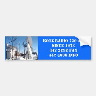 IMG_0323, RADIO 720 AMSINCE 1973 DE KOTZ 442 2292… PEGATINA DE PARACHOQUE