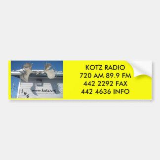 IMG_0357, www.kotz.org, KOTZ RADIO720 89,9 F… Pegatina De Parachoque