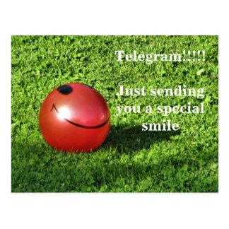 IMG_0530, Telegram!!!!!Just sending you a speci... Postcard