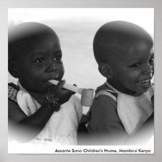 IMG_0555, Assante Sana Children's Home, Mambrui... Poster