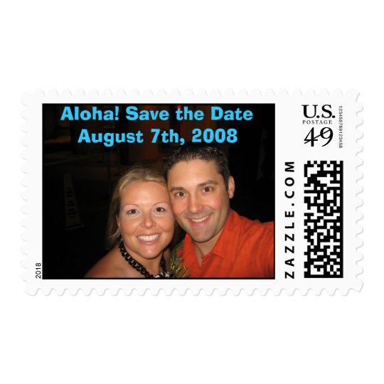 IMG_0578, Aloha! Save the Date August 7th, 2008 Postage