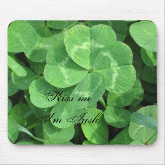 IMG_0604, Kiss me I'm Irish Mousepads