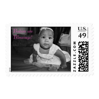 IMG_0868, Babies are Blessings! Postage Stamps